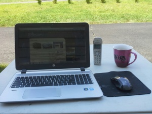 My office for most of the summer.